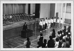 昭和48年第1回ママさんバレーボール大会