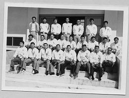 昭和48年印西町体育協会役員の雄姿