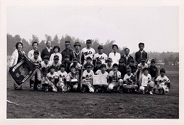 昭和53年秋季少年野球大会優勝 印西メッツ