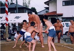 平成16年六軒相撲大会(春の山)